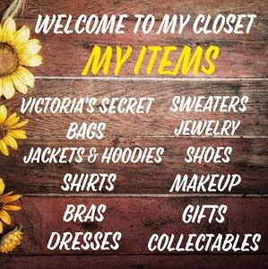 Other - 🌻🌻 Welcome to my closet 🌻🌻